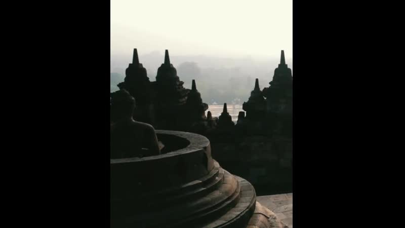 Храм Боробудур - красивое видео, Ява, Индонезия - Мототуры на остров Ява | Путешествия в Индонезию