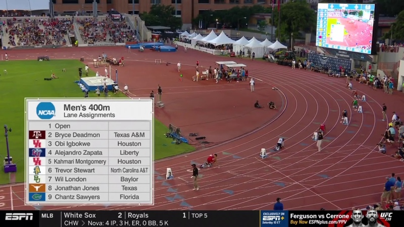 Men's 400m - 2019 NCAA Outdoor Track and Field Championships