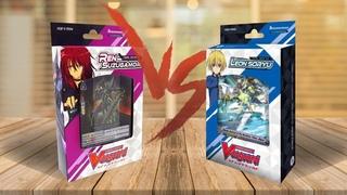 Настольная игра CARDFIGHT!! VANGUARD: LEON SORYU vs REN SUZUGAMORI | КАРТОЧНЫЕ БОИ АВАНГАРДА (ККИ)
