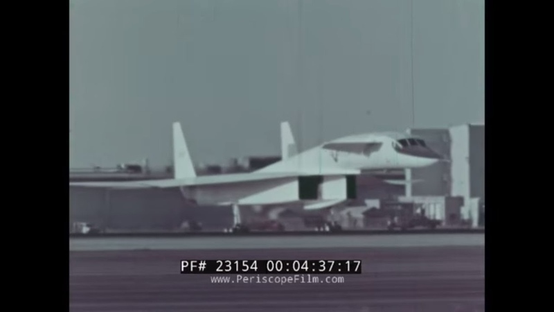 XB-70 SUPERSONIC STRATEGIC BOMBER PROMO FILM XB-70 STORY 23154