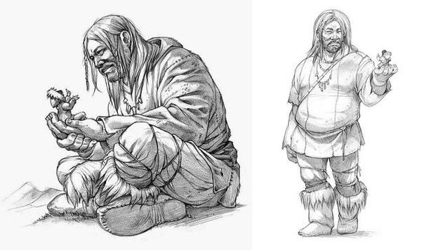 Маленькие человечки из легенд инуитов «Ишигак» (Ishigaq) - именно таким словом инуиты называют «маленьких людей», которые обитают по всей арктической территории Канады и США, в пещерах, горах