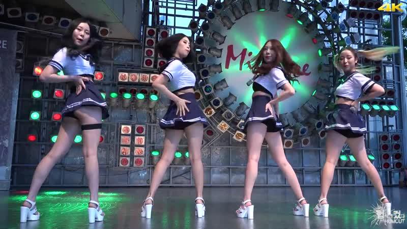 20160731 걸크러쉬 Girl Crush 엉덩이 Hip Song @신발콘서트 in 동대문 밀리오레 직캠 by 험하게컸다