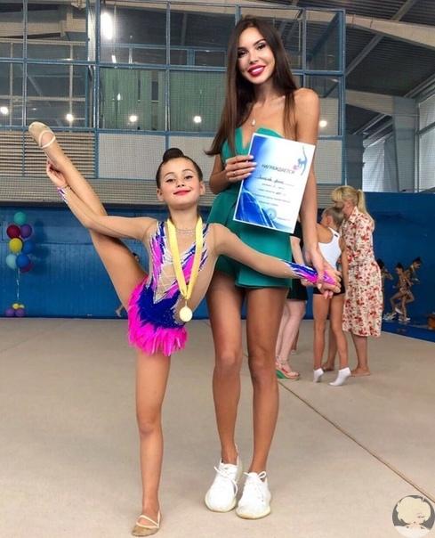 Дочка Джигана и Оксаны Самойловой впервые заняла первое место по художественной гимнастике