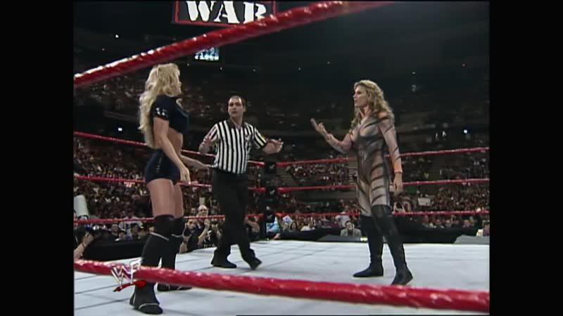 WWF Raw Is War 29 03 1999 Ivory Tori vs Sable Jacqueline