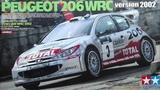 Peugeot 206 WRC 2002 Tour de Corse - Tamiya 124