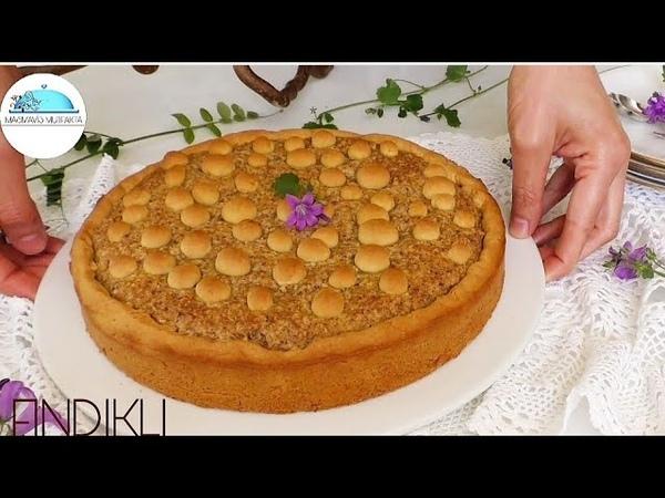 Турецкий тарт с ореховой (фундуковой) начинкой ÇOK SEVİLEN FINDIKLI TART Tarifim💯💯Bayatlamaz Bekledikçe Lezzeti Artar🔝Pasta Tarifleri