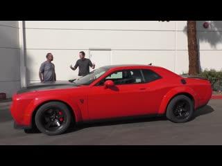 Dodge challenger srt demon за $100 000 - это безумнейший маслкар в истории!