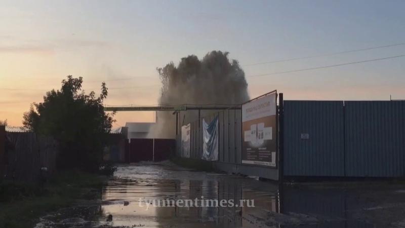 Фонтанище на Барабинской, Тюмень, 13.08.2019