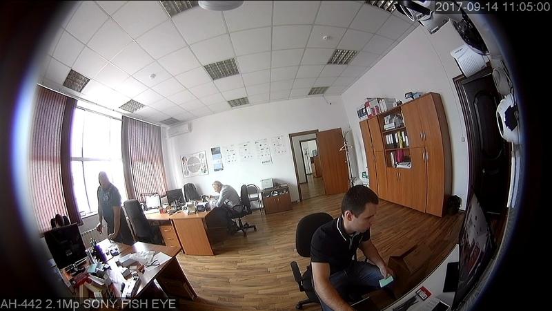 SSDCAM AHD видеокамера АН - 442 2.1Мп, SONY Exmor IMX323, объектив Fish-Eye 360°