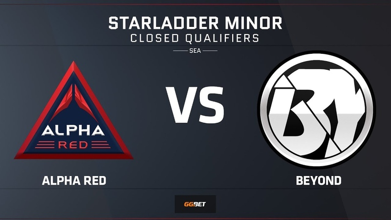 Alpha Red vs Beyond | Map 2 – Train | Asia Minor SEA Closed Qualifier – StarLadder Major 2019
