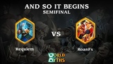 Requiem(Norse) vs RoanFX(Japanese) - And So It Begins Semifinals