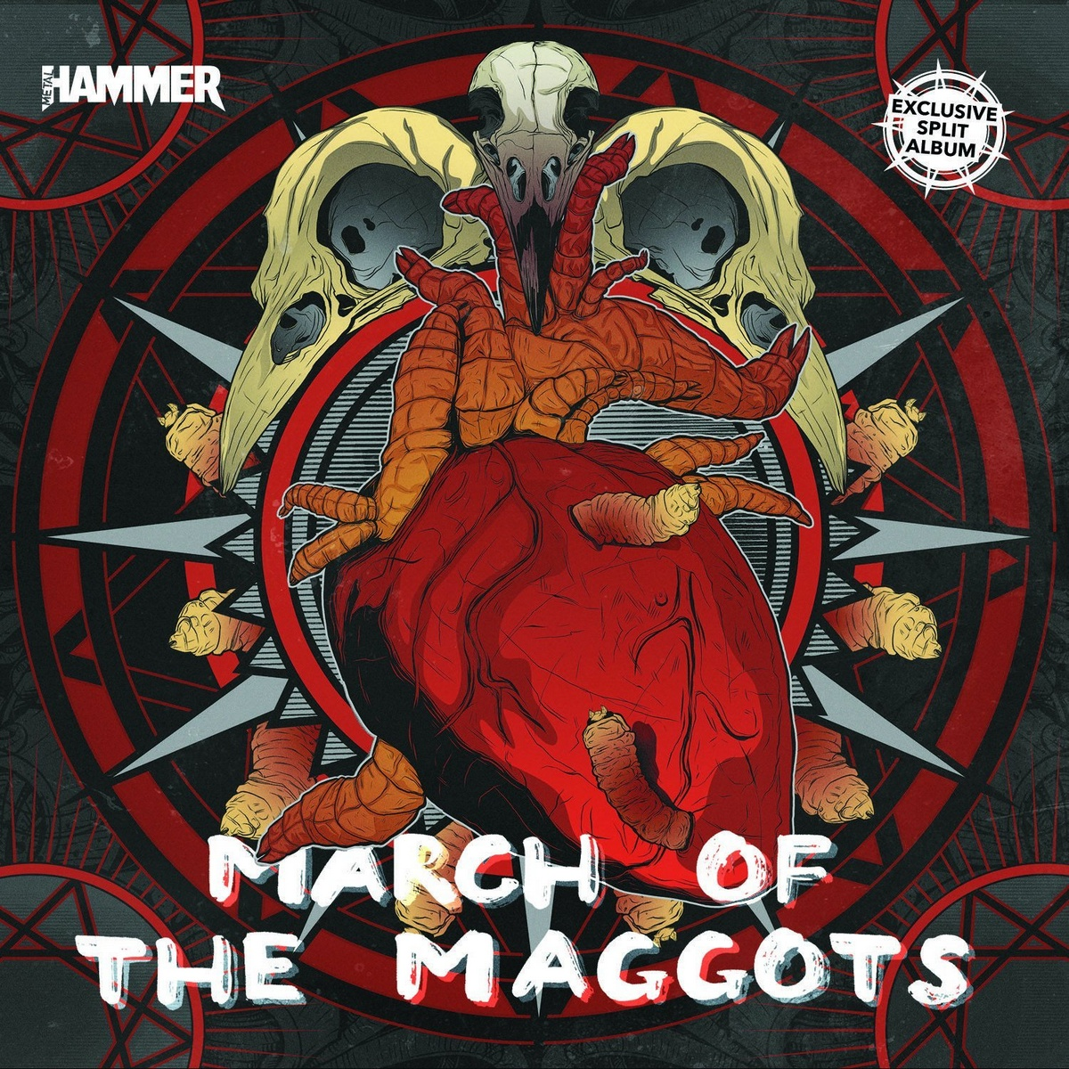 Various Artists (Metal Hammer) - March of the Maggots (2019)