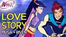 Winx Club Musa and Riven's love story from Season 1 to Season 6