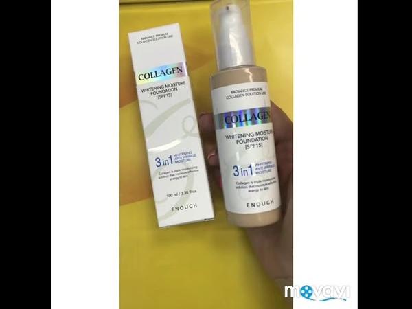 Тональный крем Enough collagen whitening moisture foundation spf 15