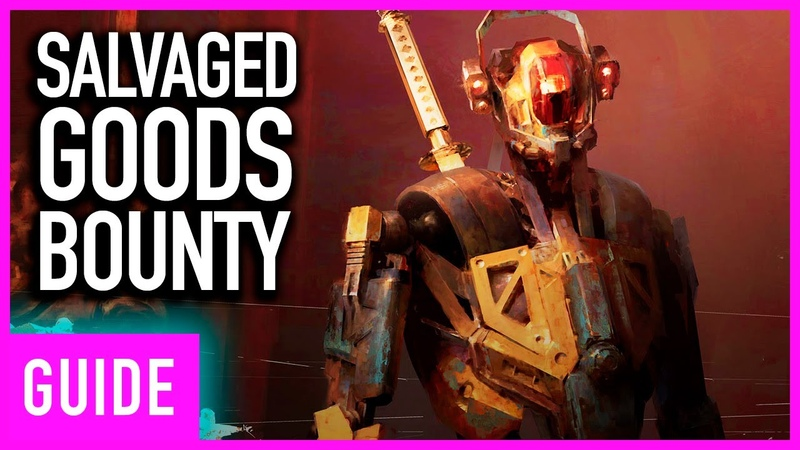 Destiny 2: Penumbra - Where To Find Salvaged Goods Bounty Chest