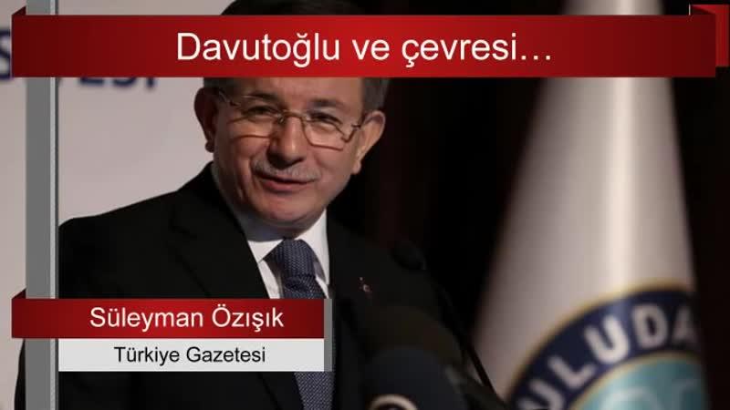"AK Parti'den bahsederken ""Partimiz"" diyen Ahmet Davutoğlu..."