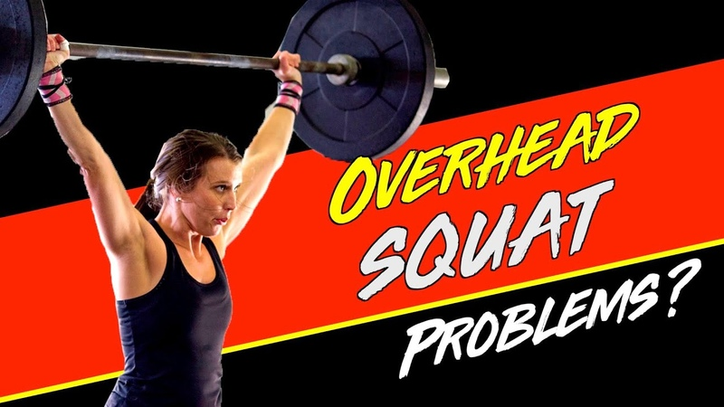 Top 3 Drills To Improve Your Overhead Squat Mobility | WODprep