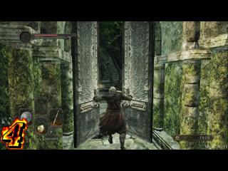 Dark Souls 2-Открываем секретные двери на локации, и разведываем территорию.