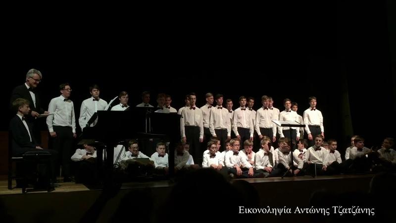 Η παιδική χορωδία αγοριών Aurelius του Calw της Γερμανίας στ