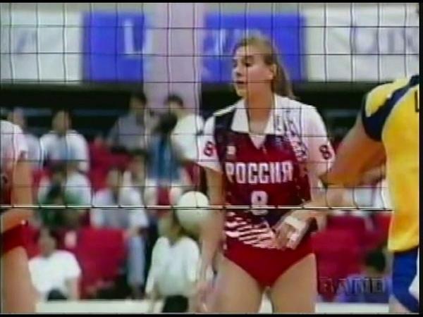 1996 Volleyball World Grand Prix Brazil 3x1 Russia