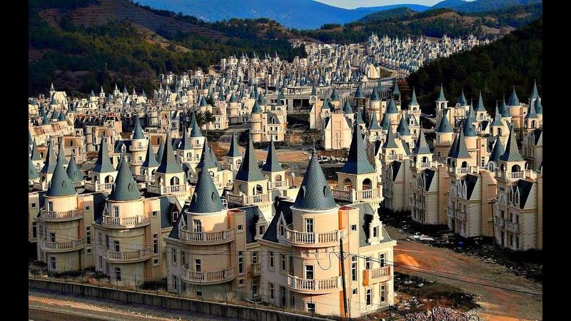 Город-призрак из сотен заброшенных замков в Турции