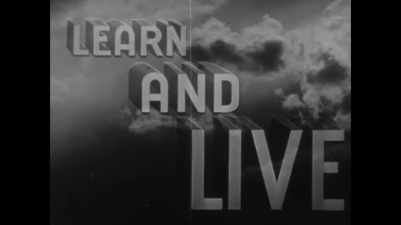 WWII PILOT TRAINING FILM LEARN AND LIVE JOE INSTRUCTOR T6 TEXAN 57174