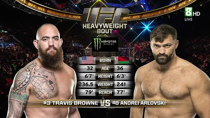 Andrei Arlovski vs. Travis Browne