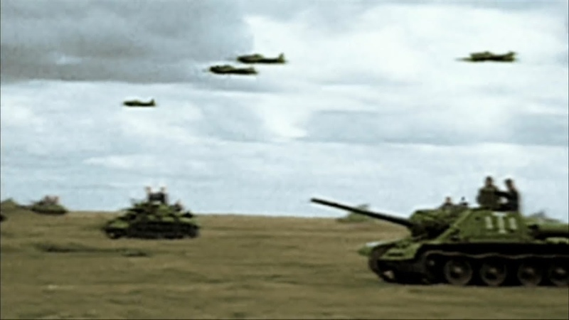 WW2 - The Great Patriotic War [Real Footage in Colour]