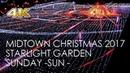 [4K]Christmas Lights of Roppongi -Tokyo Midtown 2017 / 東京ミッドタウンクリスマスイルミネーション2017日曜版/ 2