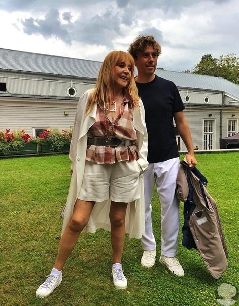 Счастливая семейная парочка Максим Галкин и Алла Пугачева