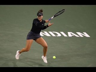Bianca Andreescu   2019 BNP Paribas Open Semifinals   Shot of the Day