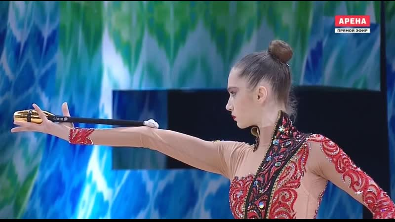 Влада Никольченко Булавы Финал - Кубок мира Ташкент 2019