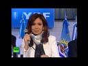 Президент Аргентины полюбила В В Путина Cristina Kirchner loves V Putin