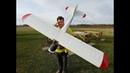 Piper Super Cub ARF Krick 2075mm 6S Crash on Maiden flight