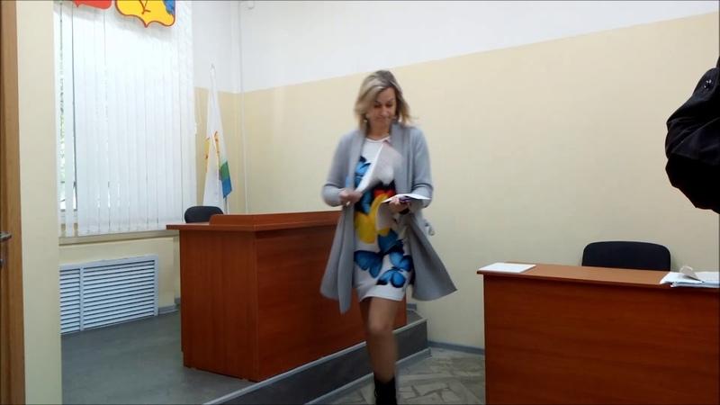 Мировой судья Вычегжанин Р В убежал из зала судебного заседания юрист Вадим Видякин