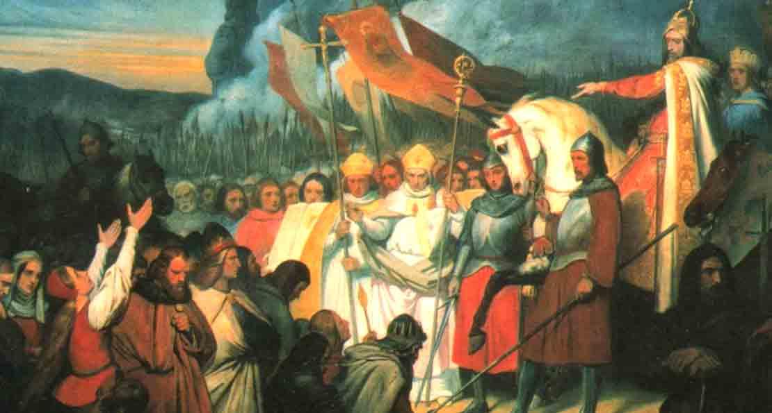 Карл Великий и саксы