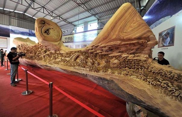 Потрясающая резьба по дереву Техника резьбы по дереву Донгянг была создана в Китае еще во времена правления династии Тан. Однако даже спустя множество веков великолепное древнее искусство не