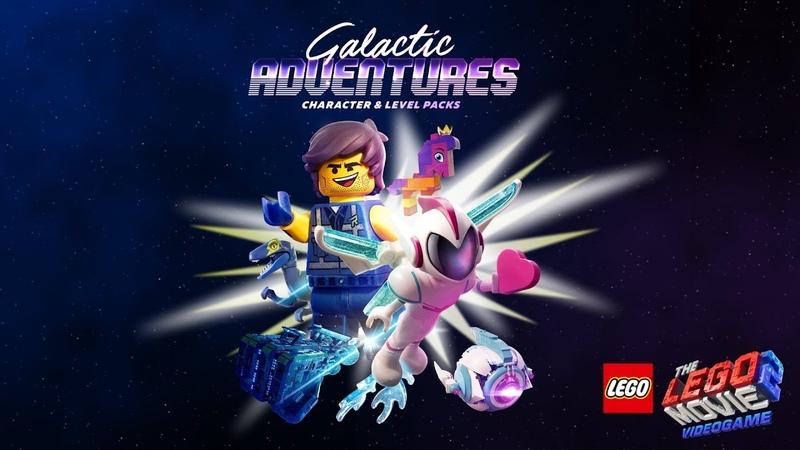 Official LEGO® Movie 2 Videogame Galactic Adventures DLC Trailer