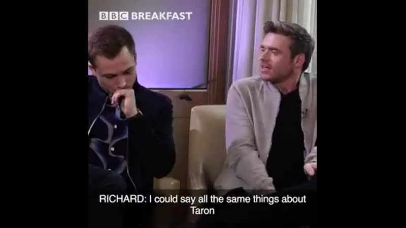 Heard the rumours about the new James Bond Make sure you catch our WORLD EXCLUSIVE interview with Rocketman stars @TaronEgerton