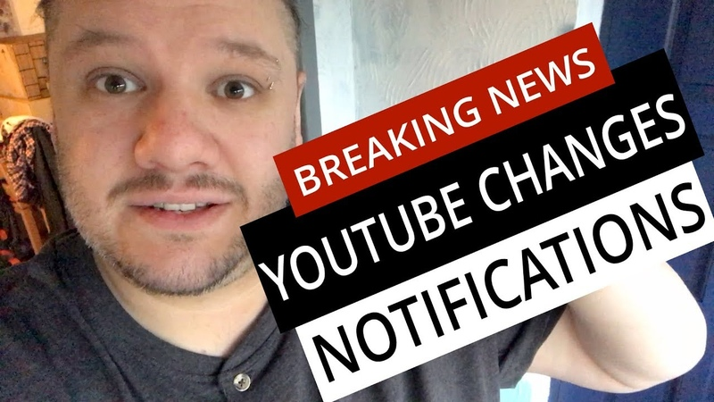 YouTube Changes Channel Notifications [BREAKING NEWS]