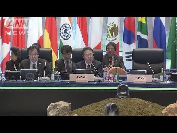 「パリ協定」巡り溝 G20エネルギー・環境相会合(19/06/16)