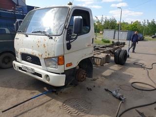 Ещё один довольный клиет  Установили грузовые шины БУ  7.50r16 Hankook 4шт  Сумма за все 23000₽
