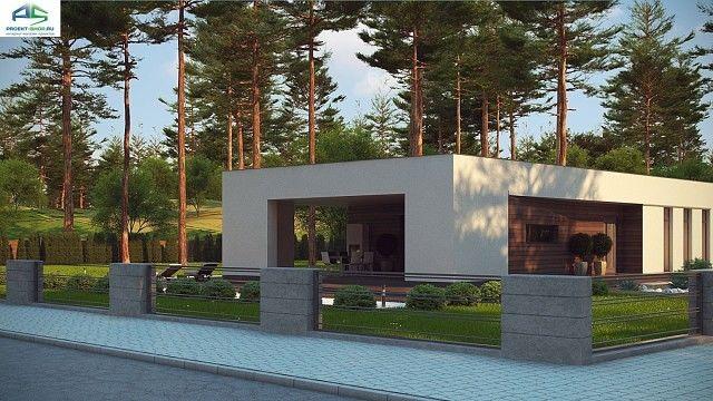 Типовой проект жилого дома zx80