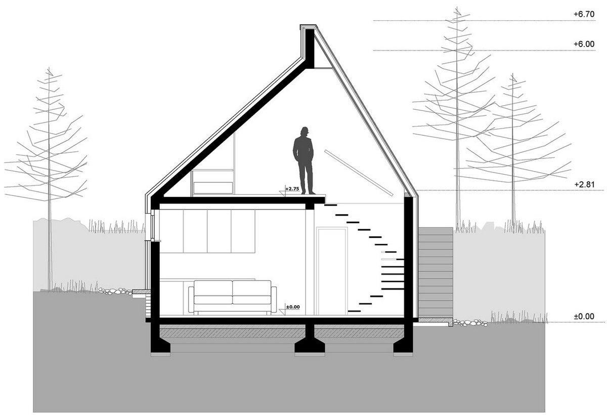 Уютный домик в горах в Дивчибаре