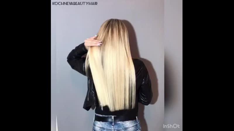 Голливудское наращивание волос Ярославль