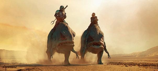 Концепт-арты первого эпизода сериала «Мандалорец» Две серии уже можно посмотреть на Disney Plus.