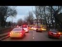 Как пропускают скорую помощь в Одессе