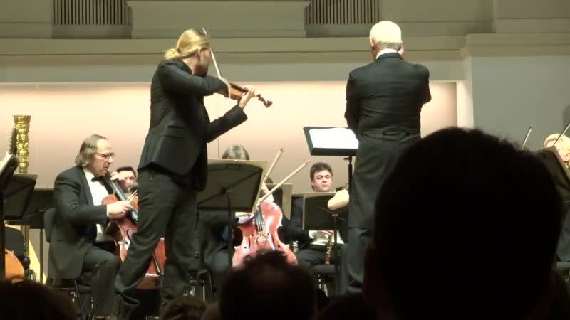 David Garrett - J.Brahms Violin Concerto in D major, Op.77, fragm. 1 - Moscow 02.03.2015