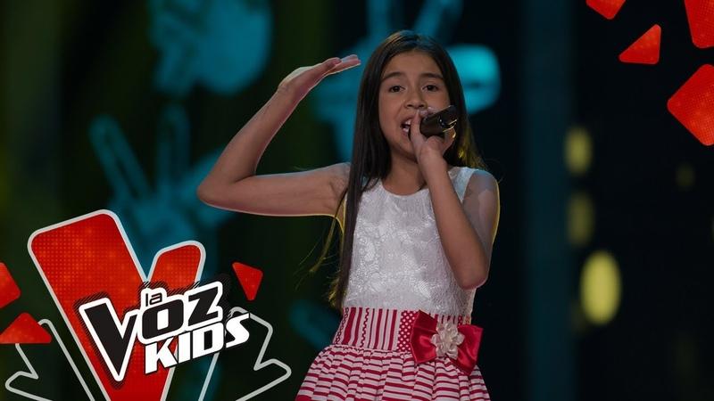 Juliana Valentina canta Fue tan poco tu cariño – Audiciones a Ciegas | La Voz Kids Colombia 2019