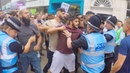 Counter Protestors Clash With English Defence League during Rally
